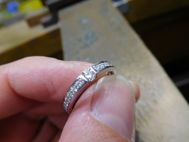 婚約指輪とエタニティリング 兼用