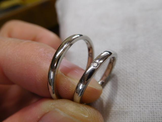 結婚指輪 華奢 細い