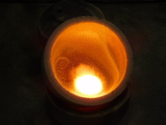 プラチナ 熔解