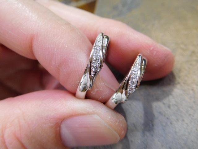海の結婚指輪