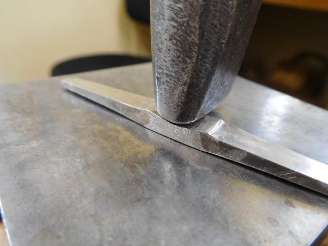 印台リングの印台面を作る