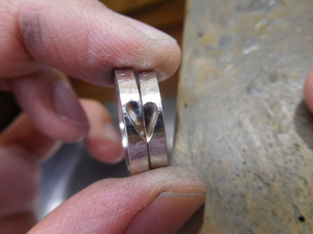 指輪 ハート