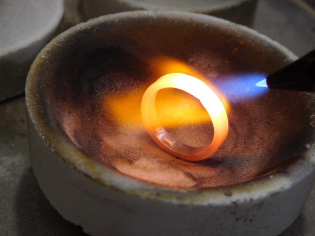 指輪 溶接方法