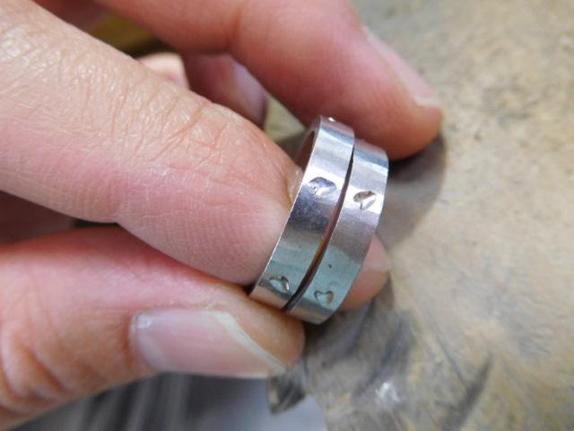 結婚指輪 さくら