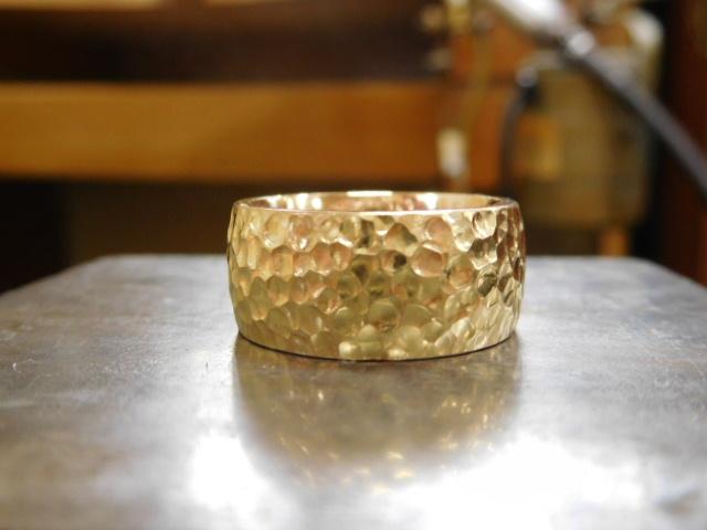 k18 太い指輪