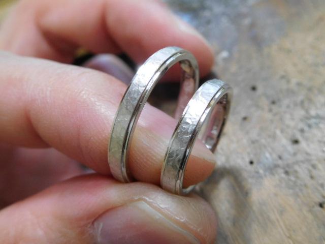 結婚指輪 コンビネーション