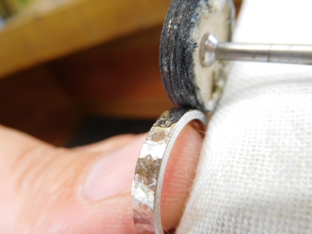 指輪 リフォーム 鏡面