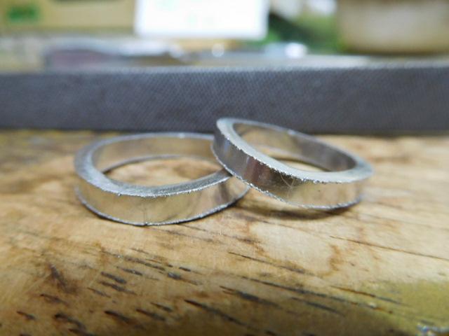 結婚指輪 彫金のやり方