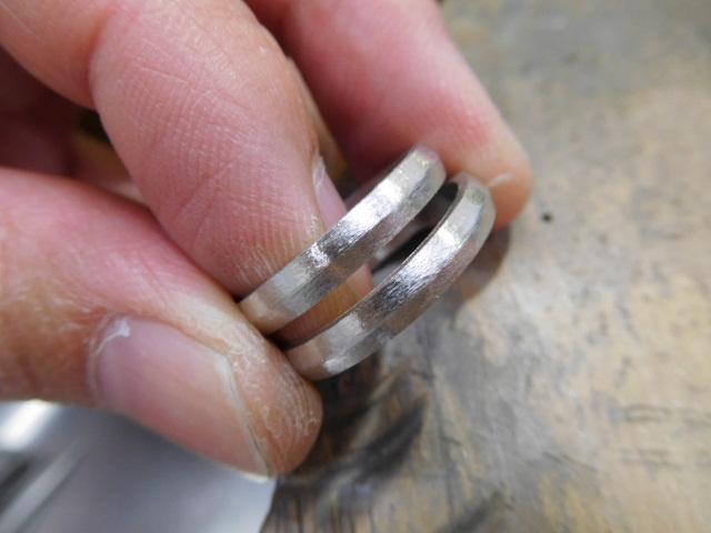 結婚指輪 ストレート ライン