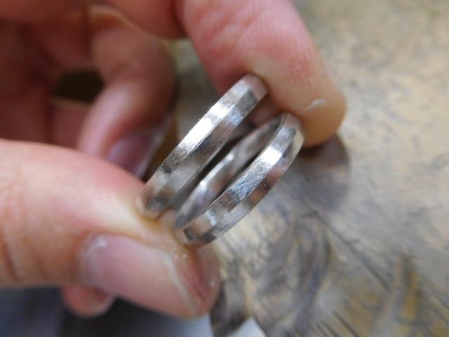 結婚指輪 ライン
