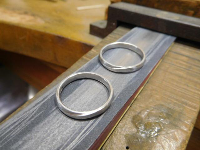 結婚指輪 新品仕上げ