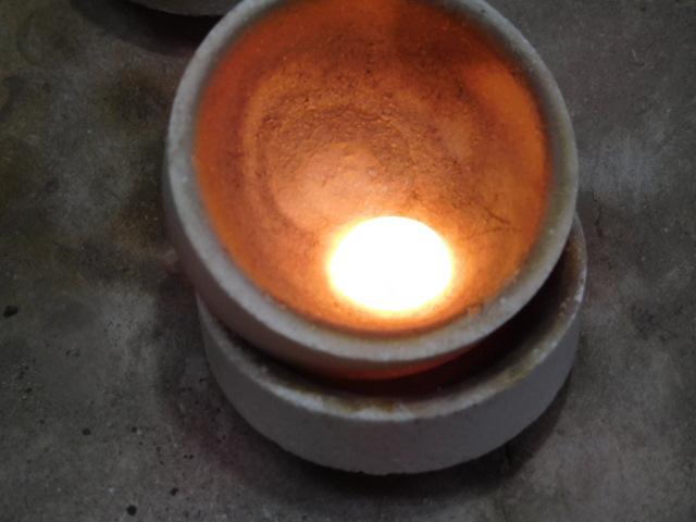 プラチナ指輪 溶解