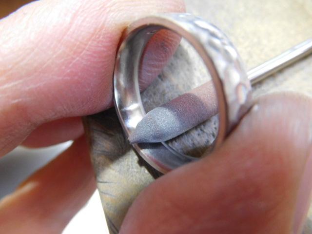 結婚指輪 磨く