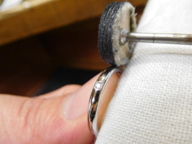 バフ掛け 指輪磨き