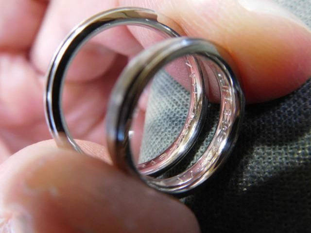 結婚指輪 刻印を入れる