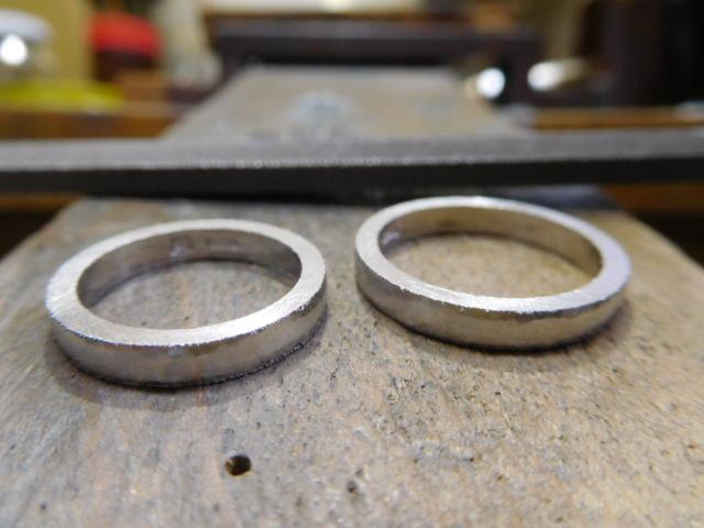 指輪の太さを削る