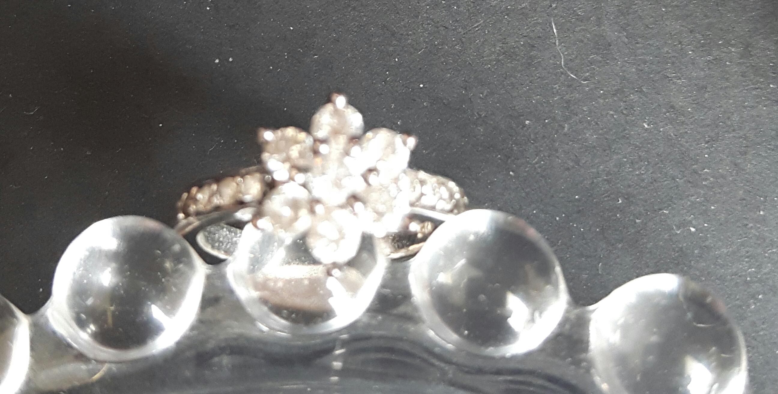 クリスタルクォーツ 指輪
