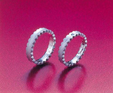 結婚指輪 ウェディングドレス