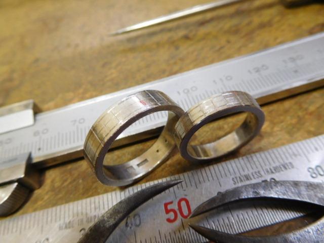 結婚指輪 設計図