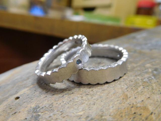 ドレスのような結婚指輪