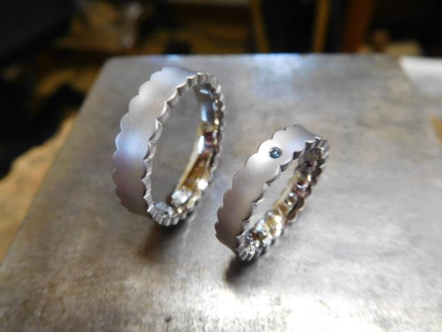 結婚指輪 ウエディングドレス