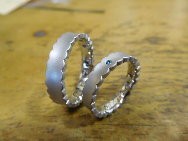 結婚指輪 マット