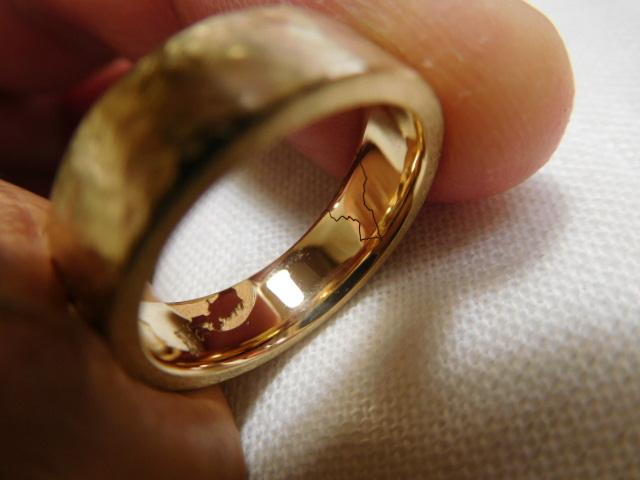 結婚指輪 地図 国旗