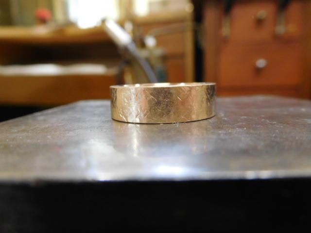 金の指輪 リフォーム