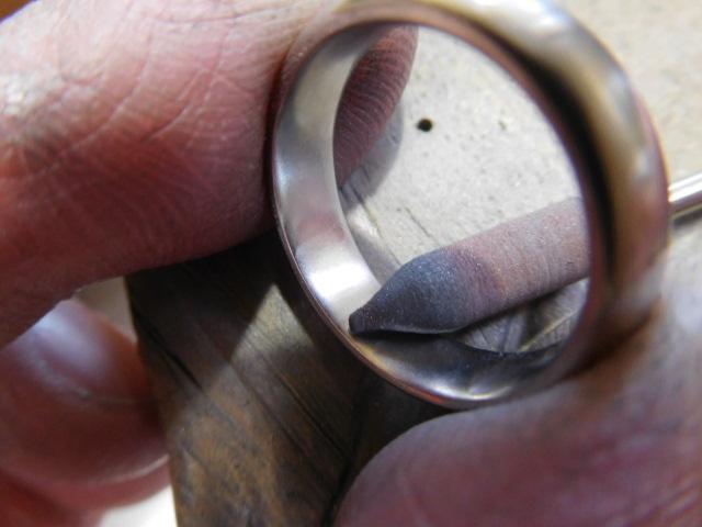 指輪 内側 滑らか