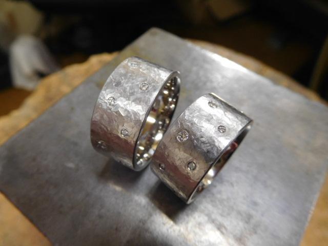 結婚指輪 ごつい