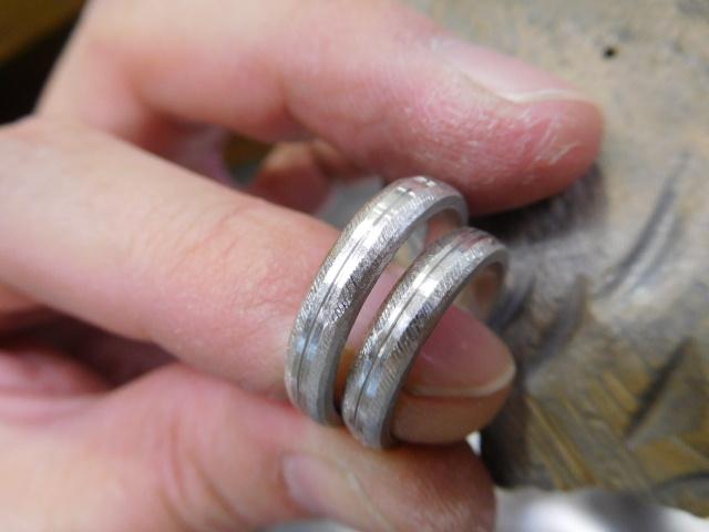 結婚指輪 甲丸 作り方