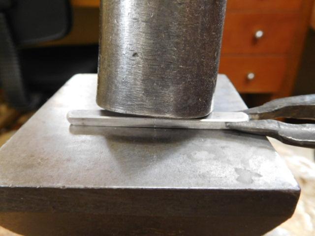 鍛造指輪を手作り