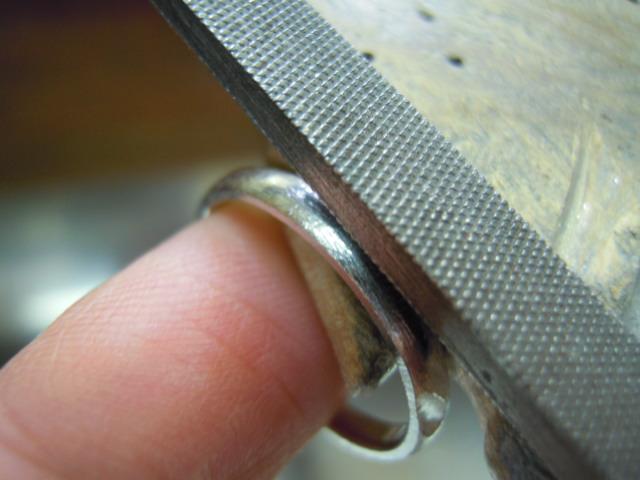 甲丸の指輪 作り方