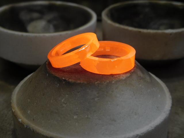 鍛造結婚指輪 溶接