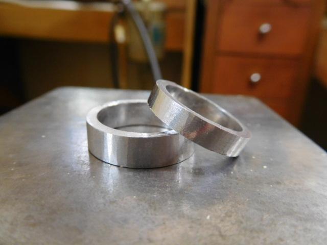 鍛造結婚指輪 作り方