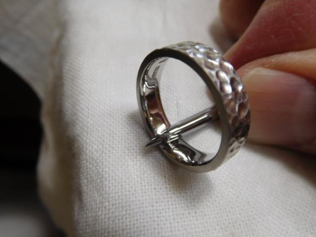 鍛造結婚指輪 鏡面