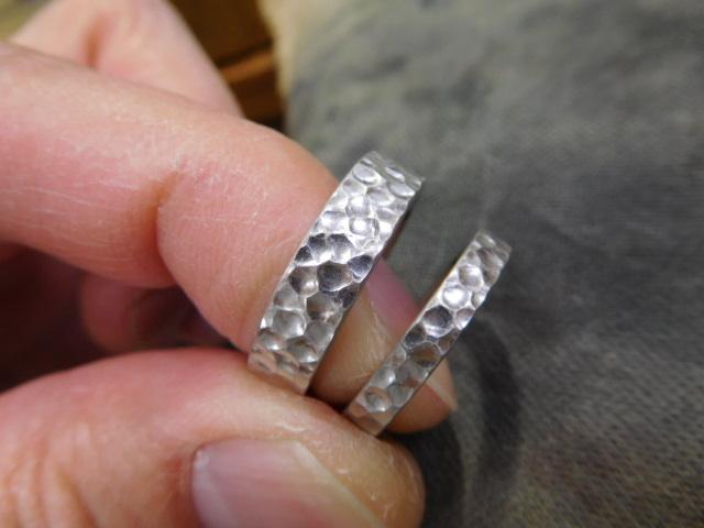 結婚指輪 鍛造 日本製