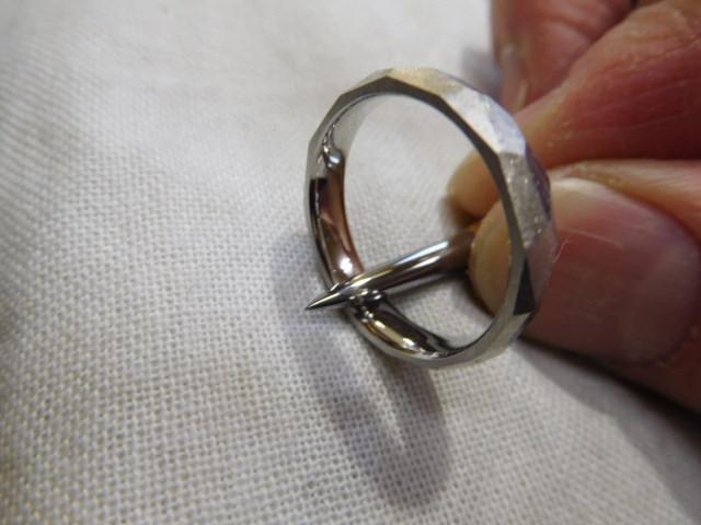 ヘラ掛け 指輪