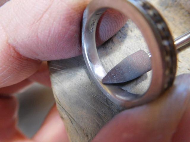 プラチナ1000 指輪 磨く