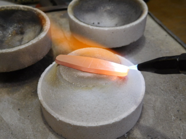 手作り 鍛造指輪