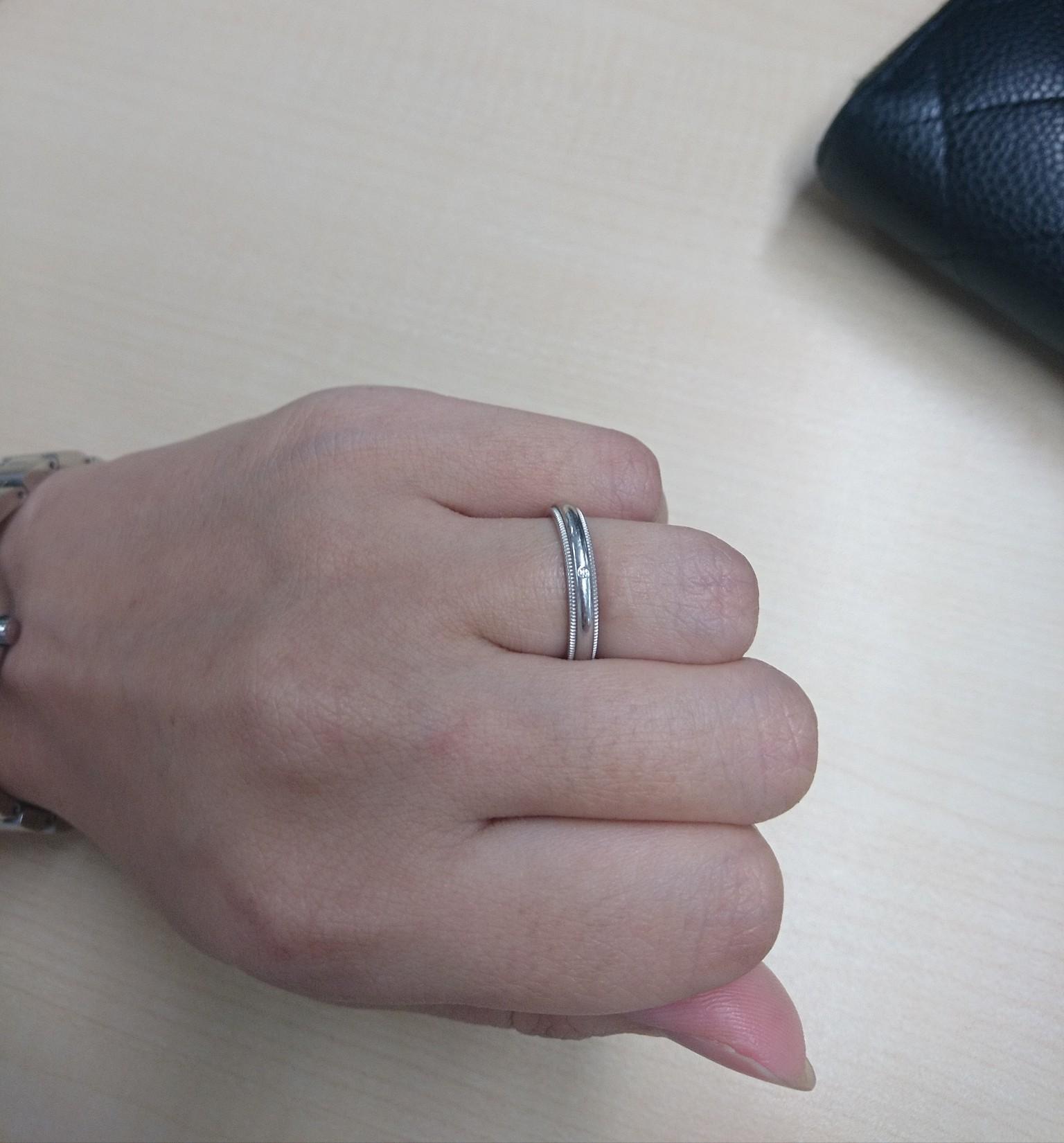 結婚指輪 ミル打ち 東京都