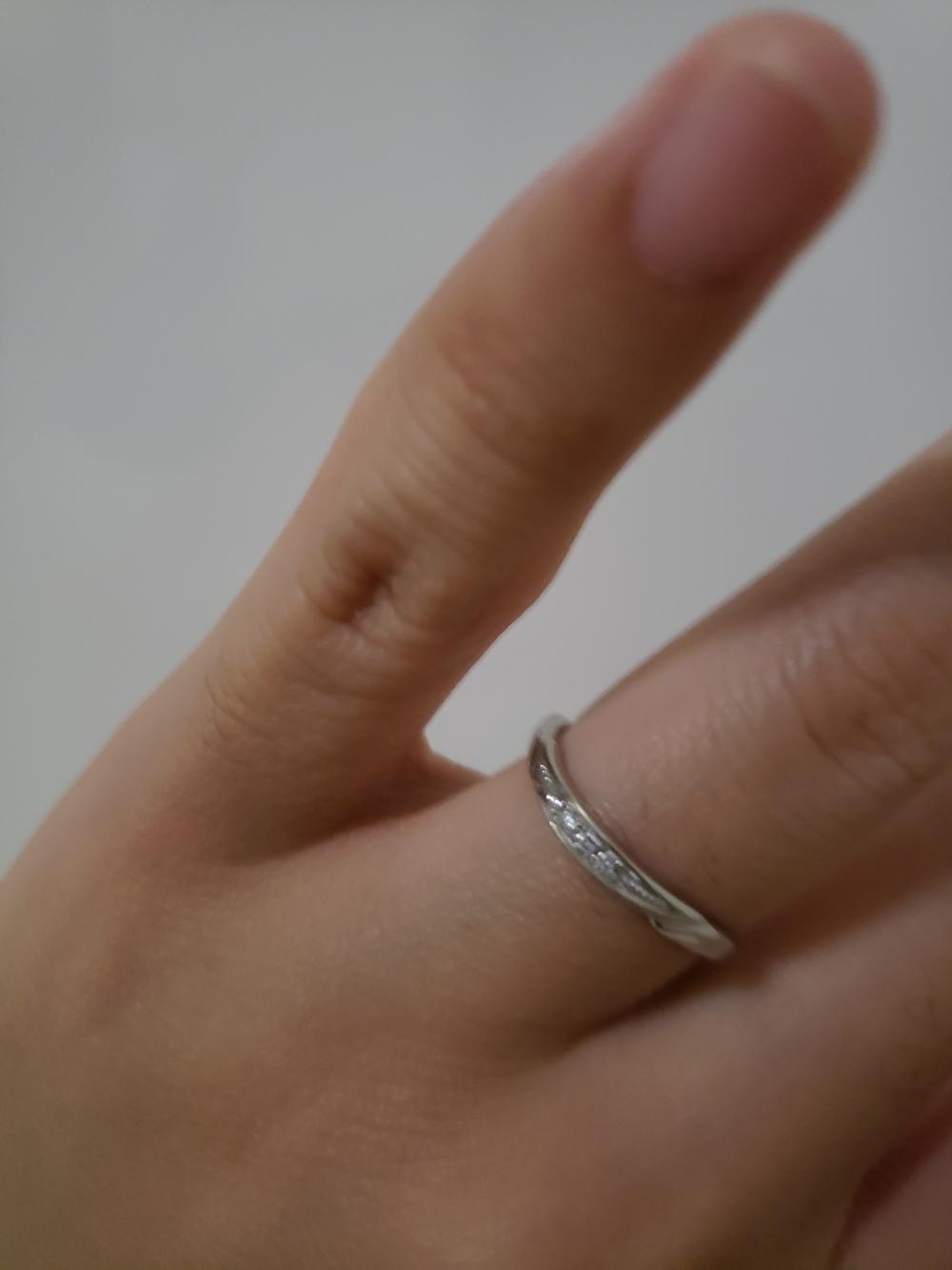 結婚指輪 ティアラ