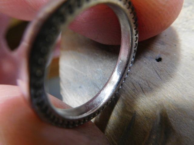 内甲丸 指輪
