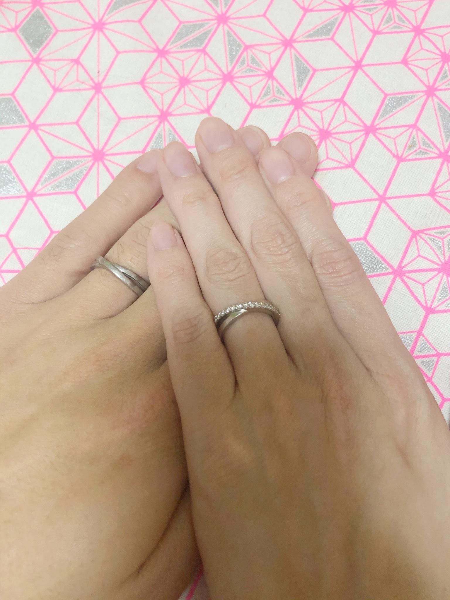 結婚指輪 二連