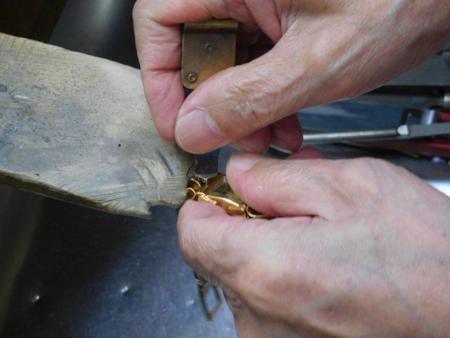 金の腕時計 リフォーム