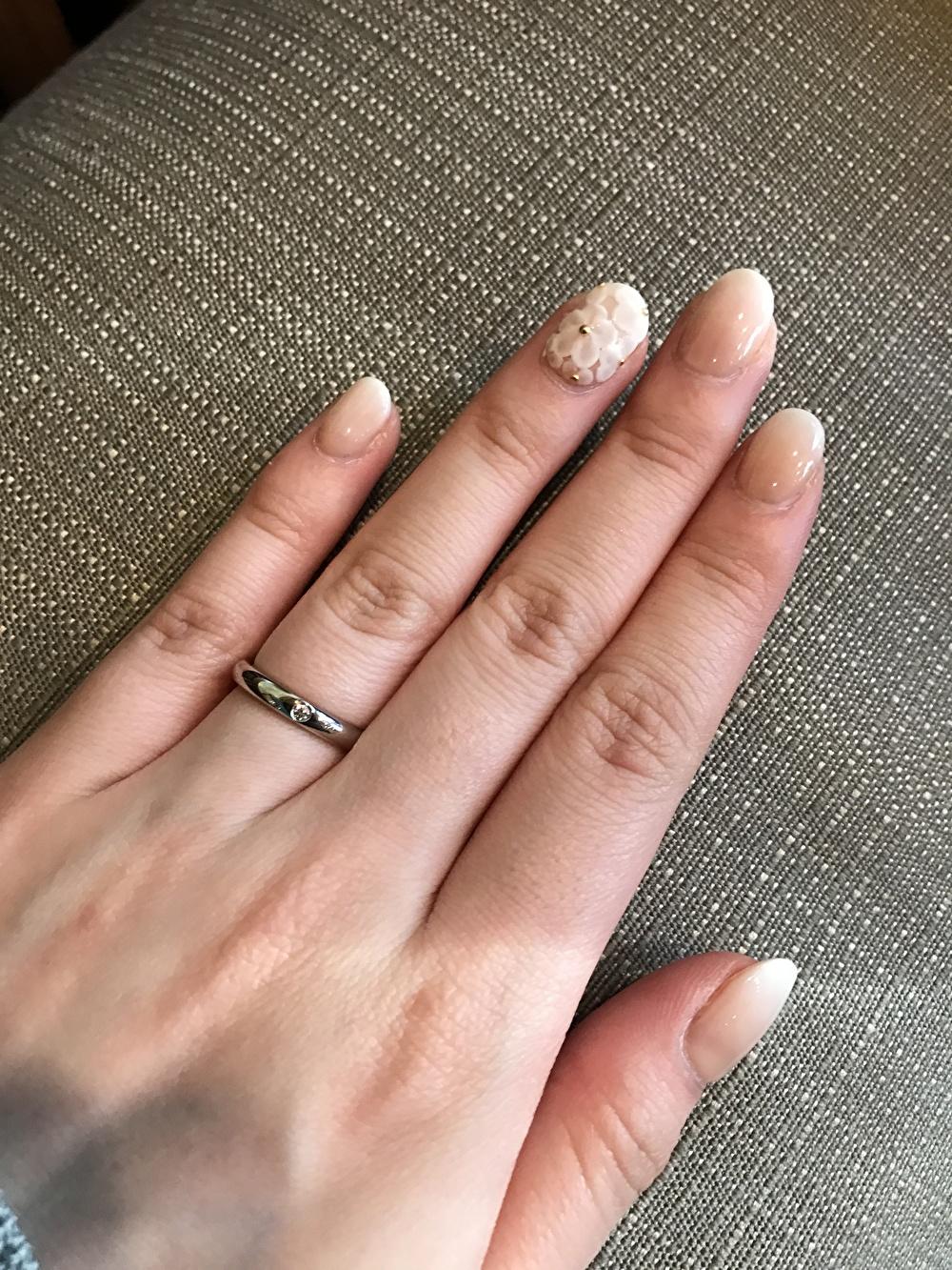 婚約指輪 シンプル