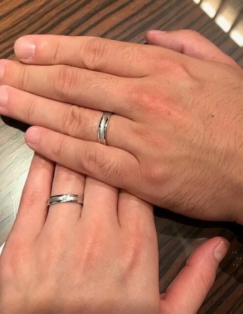 圧縮 結婚指輪