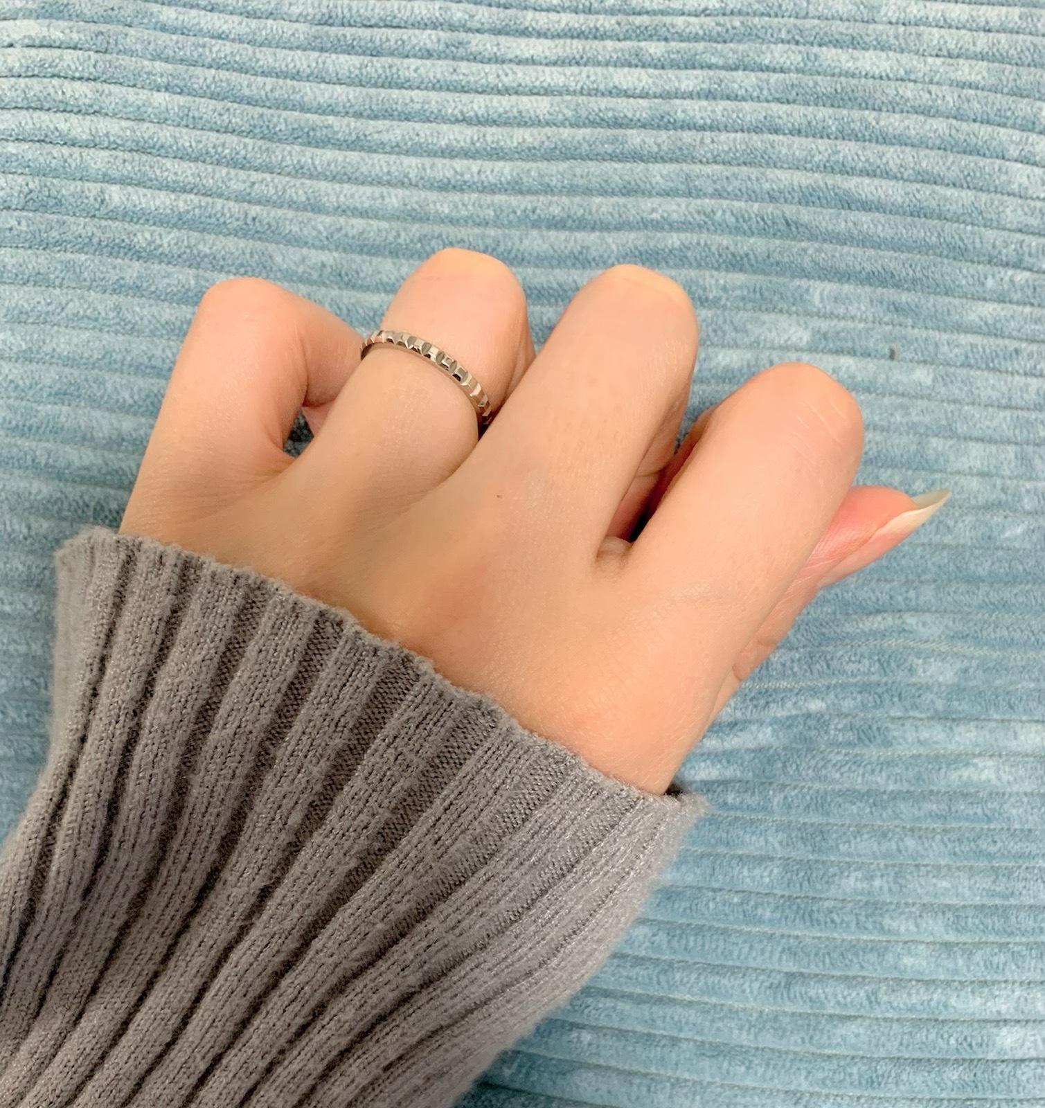 結婚指輪 細め