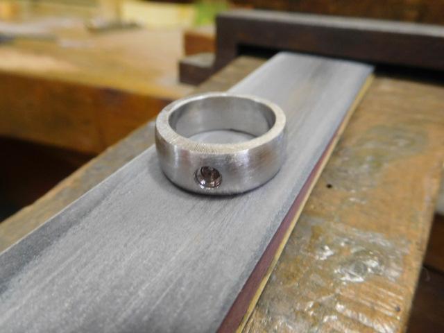 ごつい指輪