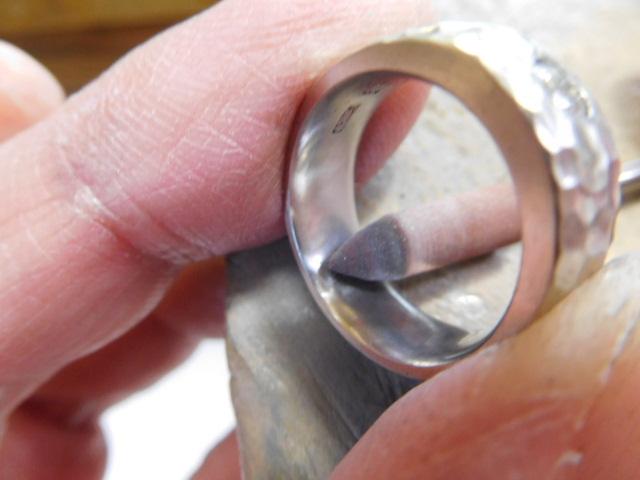 指輪 バーニシング